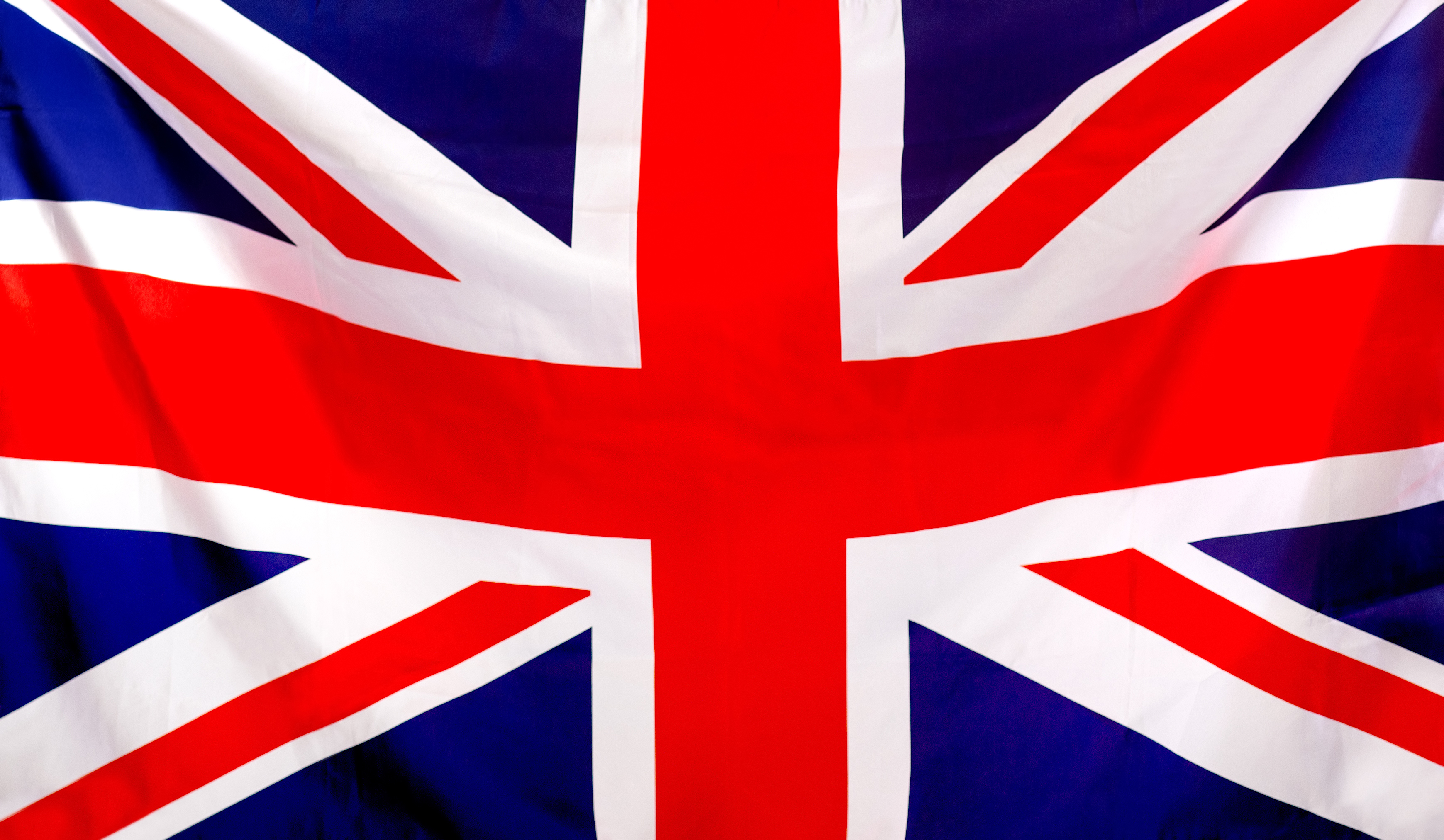 Union Jack flag to be used as background